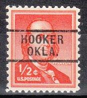 USA Precancel Vorausentwertung Preo, Locals Oklahoma, Hooker 729 - Vereinigte Staaten