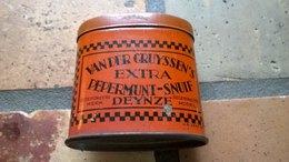 DEYNZE / DEINZE - TABAC  VAN DER CRUYSSEN - Boites à Tabac Vides