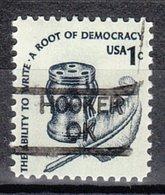 USA Precancel Vorausentwertung Preo, Locals Oklahoma, Hooker 835 - United States
