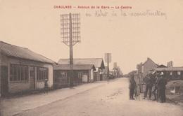 80 - CHAULNES - Avenue De La Gare - Le Centre - Chaulnes