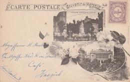Marseille Env. 1900 Souvenir De Marseille (2) - Otros