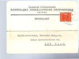 Grofsmederij Leiden > Lange Lombartstraat 1954 (CE-39) - Lettres & Documents