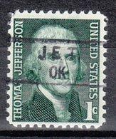 USA Precancel Vorausentwertung Preo, Locals Oklahoma, Jet 834,5 - Vereinigte Staaten