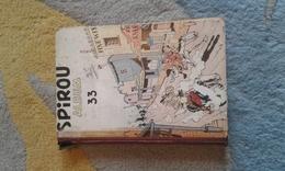 RECUEIL SPIROU NUMERO 33- ETAT CORRECT- 1950 - Spirou Magazine