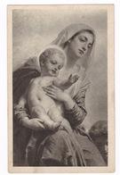 Belle CPA éditée En Slovénie : La Madone Et L'enfant Par Le Peintre Hongrois Gyula Benczúr - Vierge Marie & Madones