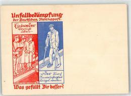 52738148 - Unfallbekaempfung Der Deutschen Reichspost - Werbepostkarten
