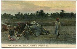 CPA - Carte Postale - Algérie - Campement De Nomade  (CPV804) - Algérie