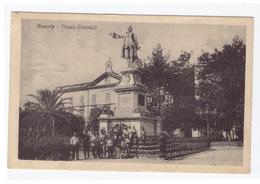 CASERTA - PIAZZA VANVITELLI - ANNO 1919 - ANIMATA - VIAGGIATA - Caserta
