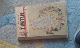 Recueil Tintin Numéro 10 - 1949 - 3 Eme Année -Edition Belge - Etat Moyen - Tintin