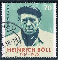 2017  100. Geburtstag Von Heinrich Böll - Used Stamps