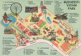 AK Budapest Budapesti Vidam Luna Park Allatkerti Kacsoh Pongrac Ut Hungary Ungarn Hongrie Hungaria Magyarorszag - Ungarn
