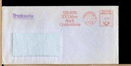 DEUTSCHE - EMA - 1276 1976 - 700 JAHRE - STADT  GERMERSHEIM - [7] Repubblica Federale
