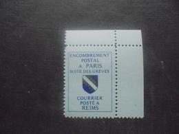 Timbre De Grève N 40 Paris - Strike Stamps