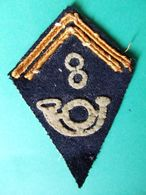 INSIGNE LOSANGE BRAS 8 CHASSEURS PIED BCP ARMEE LIBERATION 1944 45 ??? - Patches