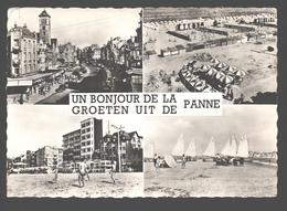 De Panne - Groeten Uit De Panne - Uitgave J. Prevot - 1960 - De Panne