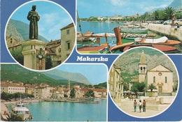 AK Makarska Hafen Port Dalmatien Dalmatie Dalmatia Jugoslavija Jugoslawien Yougoslavie Kroatien Croatia Croatie Hrvatska - Jugoslawien