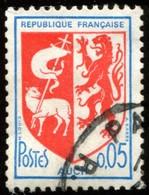 Pays : 189,07 (France : 5e République)  Yvert Et Tellier N° : 1468 A (o) Dentelé 13 - 1941-66 Armoiries Et Blasons