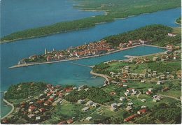 AK Rab Hafen Port Kvarner Bucht Luftbild Aerial Jugoslavija Jugoslawien Yougoslavie Kroatien Croatia Croatie Hrvatska - Jugoslavia