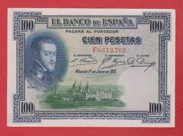Espagne  / Pick 69 C  / 100 Pesetas 1925 / TTB - [ 1] …-1931 : First Banknotes (Banco De España)