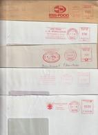 T 109) AFSt Briefmarke (NL, Estland) Postsache (GSU Australien): Rind Kuh Ochse - Hoftiere