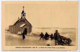 CPSM Canada Alaska Esquimau Non Circulé Chien Dog Attelage - Northwest Territories