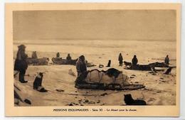 CPSM Canada Alaska Esquimau Non Circulé Chien Dog Attelage Chasse - Northwest Territories