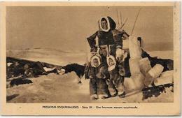 CPSM Canada Alaska Esquimau Non Circulé Types - Northwest Territories