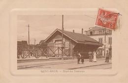 SAINT- MAUR - Dépôt Des Tramways ( De L'Est Parisien ) - Saint Maur Des Fosses
