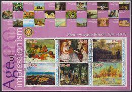 Arts, Peinture, Impressionnisme - Auguste Renoir - OUZBEKISTAN - Tableaux, Chefs D'oeuvre - 2002 - Uzbekistan