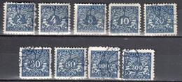 Poland 1919 - Postage Due - Mi.13-21 - Used - Impuestos