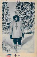 CPSM Canada Alaska Esquimau écrite Types - Northwest Territories