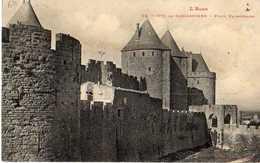 CARCASSONNE - CITE - PORTE NARBONNAISE - Carcassonne