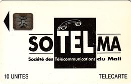 Mali Phonecard - Superb Fine Used 10u ((Schlumberger) - Mali