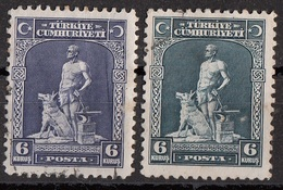 Turchia 1929-1930 Sc. 679-691 The Legendary Blacksmith And His Gray Wolf. Used Turkey Turkiye - 1921-... Republic