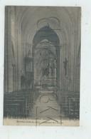 Le Bourg-Dun (76) : L'intérieur De L'église En 1910 PF - France