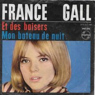 """France Gall 45t. SP ALLEMAGNE  """"et Des Baisers"""" - Other - French Music"""