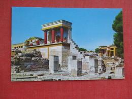 Olympic Airway   Crete  Minoan  Palace Of Knossos =ref 2893 - Greece
