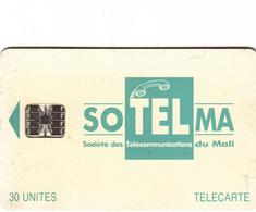 Mali Phonecard - Superb Fine Used 30u ((Schlumberger) - Light Green/Blue Colour - Mali