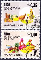 UN Genf  Geneva Geneve - 10 Jahre IFAD (MiNr: 162/3) 1988 - Gest Used Obl - Usati