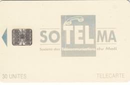 Mali Phonecard - Superb Fine Used 30u ((Schlumberger) - Grey/Blue Colour - Mali