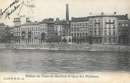CPA / AK / PK   -  LIÈGE  Station Du Tram De Barchon Et Quai Des Pêcheurs - Luik