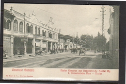 Netherlands Indies Medan Djalan Keawan Nederlandse Handelsmaatschappij & Protestan Church East Sumatra ± 1910 (ni9-45) - Indonesia