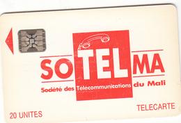 Mali Phonecard - Superb Fine Used 20u ((Schlumberger) S15 - Mali