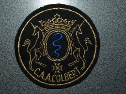 ECUSSON MARINE FRANCAISE     CAA  COLBERT - Patches
