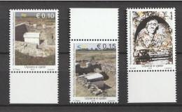 Kosovo - 2011 Archeology. Ancient Ulpiana. 3v: 0.10, 0.15, 1 Mnh - Kosovo