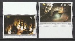 Kosovo - 2011 Caves. 2v: 0.70, 1.00 Mnh - Kosovo