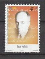 Kosovo - 2011  Poet Esat Mekuli. 1v: 1 Mnh - Kosovo