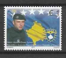Kosovo - 2011 National Hero Enver Zymeri. 1v: 1 Mnh - Kosovo