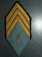 ECUSSON ARMEE FRANCAISE   SERGENT CHEF - Patches