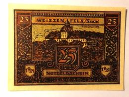 Allemagne Notgeld Weissenfels 25 Pfennig - [ 3] 1918-1933 : Weimar Republic